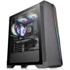 THERMALTAKE case H350 TG černý s oknem, 1x TG, 1x fan 120mm (ATX case bez zdroje)