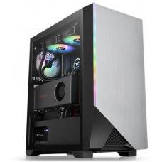 THERMALTAKE case H550 TG černý s oknem, 1x TG, 1x fan 120mm (ATX case bez zdroje)
