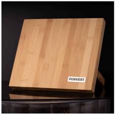 PORKERT blok na nože magnetický 24x21x12cm bambusový