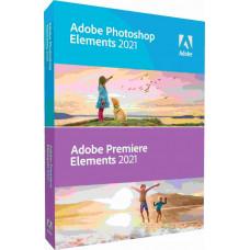 Adobe Photoshop Elem/Premiere Elem 2021 MP ENG FULL BOX