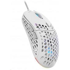 SilentiumPC SPC Gear herní myš LIX+ onyx white / drátová / optická / PMW3360/800-12000dpi