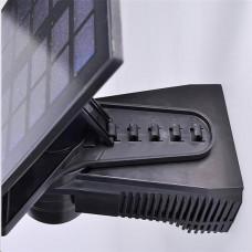 Solight LED solární osvětlení se senzorem, 8W, 600lm, Li-on, černá