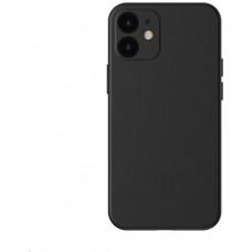Baseus Liquid Silica Gel Protective Case for Apple iPhone 12 Mini 5.4'' Classic Black