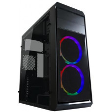 LC-POWER case Gaming 999B Phantasm Midi Tower, window, černá