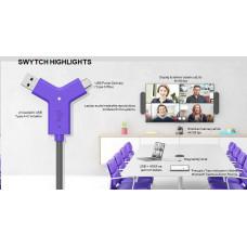 Logitech SWYTCH pro RALLY, MeetUp, GROUP i jiné USB konferenční kamery