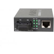 Planet FT-802S15 Konvertor, 10/100Base-TX - 100Base-FX, SC, singlemode