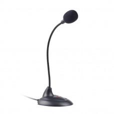C-TECH Stolní mikrofon MIC-04E, 3,5