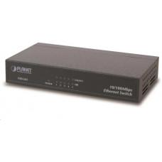 Planet FSD-503 Switch, 5x 10/100Base-TX, 10
