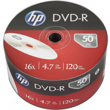 HP DVD-R HP 4,7 GB (120min) 16x 50-spindle bulk