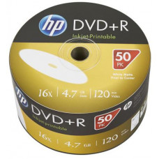 HP DVD+R HP 4,7 GB (120min) 16x Inkjet Printable 50-spindle bulk