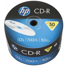 HP CD-R HP 700MB (80min) 52x 50-spindl Bulk