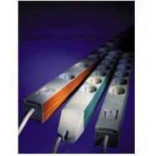 KNURR DI-Strip 6x230V, vypínač, 1U, 19''