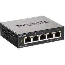 D-Link DGS-1100-05V2/E 5-Port Gigabit Smart Managed Switch- 5-Port 100BaseTX Auto-Negotiating