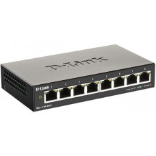 D-Link DGS-1100-08V2/E 8-Port Gigabit Smart Managed Switch- 8-Port 100BaseTX Auto-Negotiating
