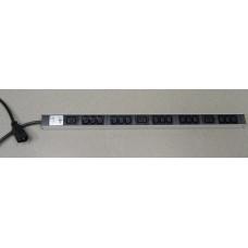 KNURR DI-Strip 15xC13+3xC19, 1x16A C20