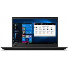 LENOVO ThinkPad P1 Gen 3 i7-10850H Černá