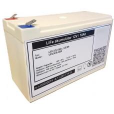 CARSPA LiFePO4 lithium baterie MHPower 12V 10Ah