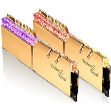 GSKILL G.SKILL 16GB=2x8GB Trident Z Royal Gold DDR4 3600MHz CL18 1.35V