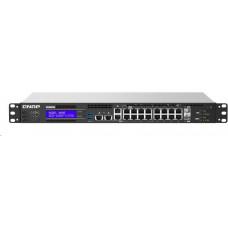 QNAP řízený switch QGD-1602P-C3558-8G (8x GbE PoE + 8x 2,5 GbE PoE + 2x 10GbE SFP+ / 8GB RAM )