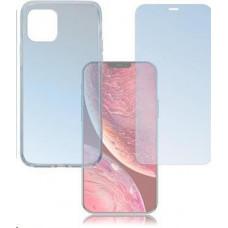 4smarts 360° Protection set (tvrzené sklo + gelový zadní kryt) pro Apple iPhone 12 mini