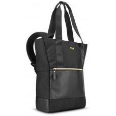 SoloNY SOLO NY Parker Hybrid Dámská taška/batoh pro NB, černá