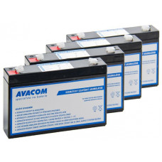 AVACOM Bateriový kit AVACOM AVA-RBC34-KIT náhrada pro renovaci RBC34 (4ks baterií)