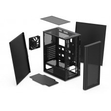 SilentiumPC skříň MidT Ventum VT2 / ATX / 120mm fan / 2xUSB 3.0 / černá