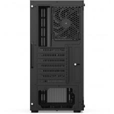 SilentiumPC skříň MidT Ventum VT2 TG / ATX /  2x120mm fan / 2xUSB 3.0 / tvrzené sklo / černá