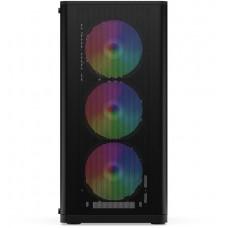 SilentiumPC skříň MidT Ventum VT2 EVO TG ARGB / ATX / 3x120mm fan ARGB / 2xUSB 3.0 / tvrzené sklo
