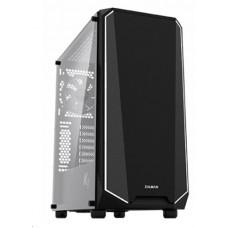 ZALMAN case Zalman miditower K1 Rev.B, ATX MID, Tempered glass & Spectrum LED, bez zdroje, USB3.0