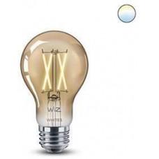 WiZ LED Žárovka SMART WiFi A60 E27 WiZ DW FA Q Teplá Dimmable Filament 550lm 2700K (WZE21026011-A)