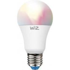 WiZ LED Žárovka SMART WiFi A60 E27 WiZ60 TR F Barevná a Bílá 806lm 2200K-6500K 9W (WZE20026081)
