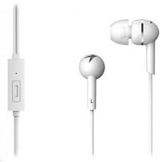 Genius HS-M300 /sluchátka s mikrofonem/ 3,5mm jack - 4 pin/ bílý