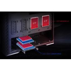 XPG ADATA XPG skříň DEFENDER PRO Mid-Tower Case, bez zdroje, ARGB fan 3x, black