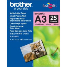 BROTHER BP60MA3, 25 listů A3, Foto Matt, 145g