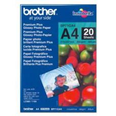 BROTHER BP71GA4, 20 listů, A4, Premium Glossy, 260g