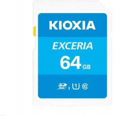 Toshiba KIOXIA Exceria SD card 64GB N203, UHS-I U1 Class 10