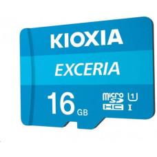 Toshiba KIOXIA Exceria microSD card 16GB M203, UHS-I U1 Class 10