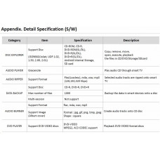 LG HITACHI LG - externí mechanika DVD-W/CD-RW/DVD±R/±RW/RAM/M-DISC GP96Y, Ultra Slim, OTG konektor