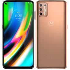 Lenovo Motorola Mobilní telefon Motorola Moto G9 Plus - zlatý