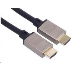 PremiumCord Ultra High Speed HDMI 2.1 kabel 8K@60Hz, 4K@120Hz délka 3m kovové pozlacené konektory