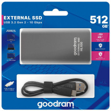 GoodRAM externí SSD HL100, USB-C, 512GB
