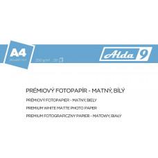 COMGAD ALDA9 Fotopapír A4 250 g/m2, prem. matný, 20listů