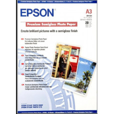 EPSON A3, Premium Semigloss Photo Paper (20 listů)