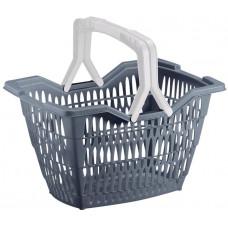 JELENIA PLAST košík nákupní WILLY 2 držadla 40x30x24cm PH mix barev,nosn.12kg
