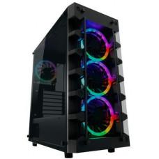 LC-POWER case Gaming 709B Solar_System_X Midi Tower, window, černá