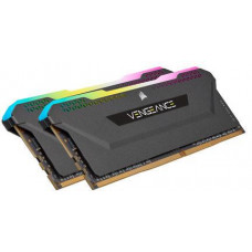 CORSAIR 16GB=2x8GB DDR4 3200MHz VENGEANCE RGB PRO SL BLACK s RGB LED CL16-20-20-38 1.35V XMP2.0