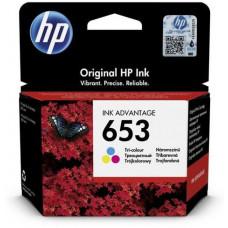 HP Cartridge HP InkJet 3YM74AE color, 653