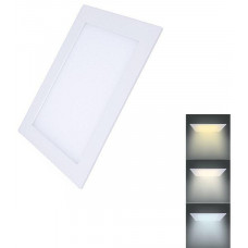 Solight LED mini panel CCT, podhledový, 6W, 450lm, 3000K, 4000K, 6000K, čtvercový