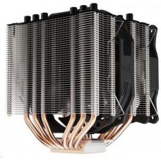 SilentiumPC chladič CPU Grandis 3 / ultratichý/ 1x140mm a 1x120mm fan/ 6 heatpipes/ PWM/ pro Intel